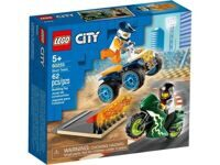Конструктор LEGO CITY Turbo Wheels Команда каскадёров